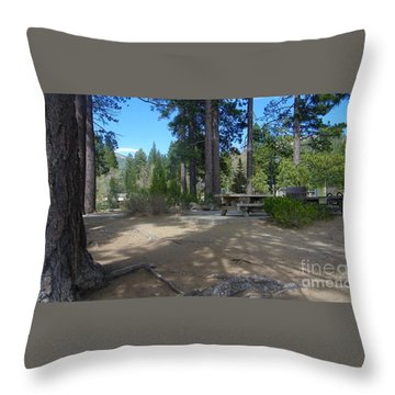 Throw Pillow featuring the photograph Tahoe's Summer Invitation by Bobbee Rickard