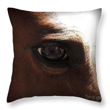 Tai Sees Throw Pillow