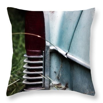 Throw Pillow featuring the photograph Tail Light by Rebecca Davis