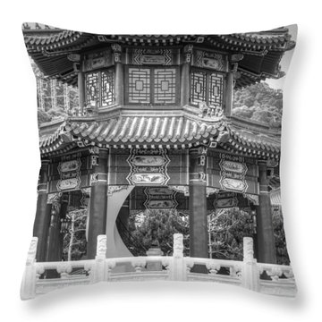 Taiwan Gazebo Throw Pillow