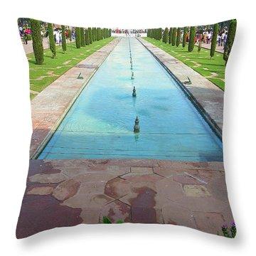 Taj Afar Throw Pillow