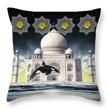 Taj Throw Pillow