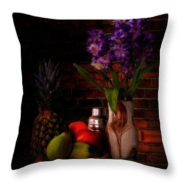 Take A Break Throw Pillow by Lourry Legarde