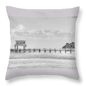 Take A Long Walk Off A Short Pier Throw Pillow
