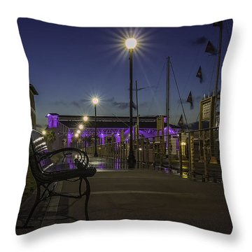 Take A Seat And Enjoy The View Throw Pillow by Brian Wright