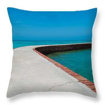 Take A Walk Throw Pillow