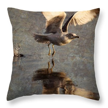 Take Flight Throw Pillow by Andrew Pacheco