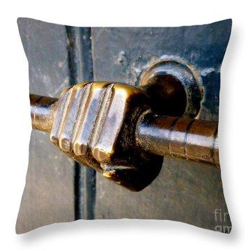 Take Hold Throw Pillow by Lainie Wrightson