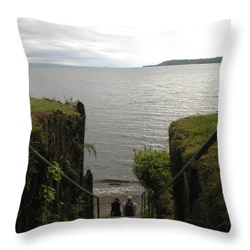 Take In The View Throw Pillow