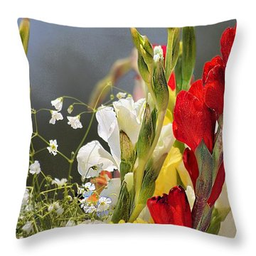 Throw Pillow featuring the photograph Take It In by John  Kolenberg