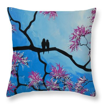 Take Me Away With You Throw Pillow by Dan Whittemore