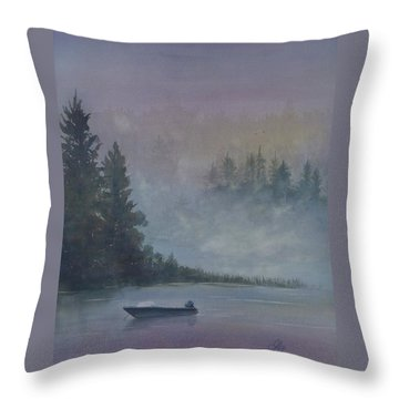 Take Me Fishing Throw Pillow