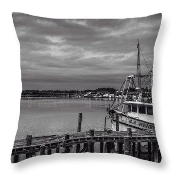 Take Me Fishing Throw Pillow