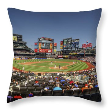 Take Me Out To The Ballgame Throw Pillow