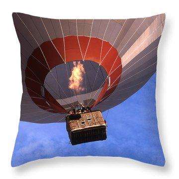 Take Off Throw Pillow by Heiko Koehrer-Wagner