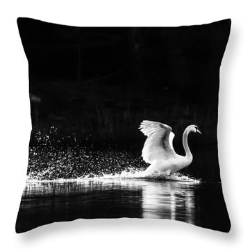 Take Off Throw Pillow by Rose-Maries Pictures