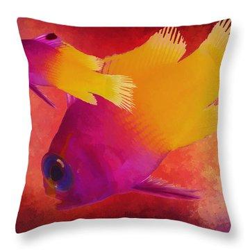 Take The Plunge Throw Pillow
