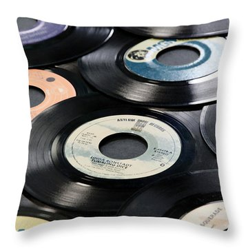 Take Those Old Records Off The Shelf Throw Pillow