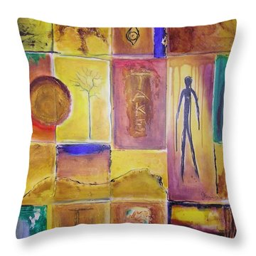 Take Time Throw Pillow