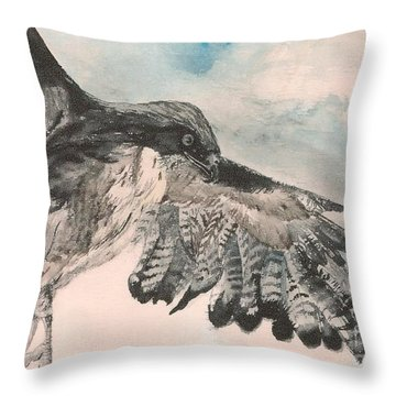 Take Wing Throw Pillow