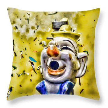 Take Your Best Shot Throw Pillow