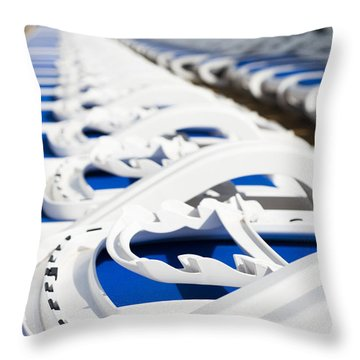 Take Your Pick Throw Pillow by Anne Gilbert