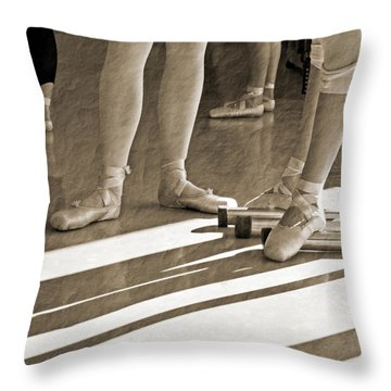 Taking A Break Throw Pillow by Bill Howard