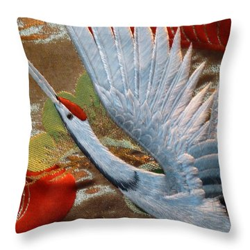 Taking Flight Throw Pillow by Newel Hunter