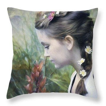 Taking Time Throw Pillow
