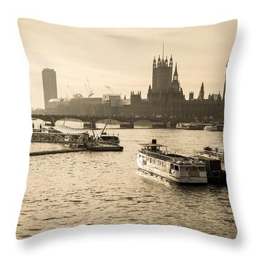 Tale Of Two Cities Throw Pillow
