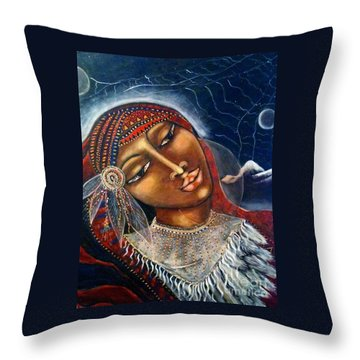 Taliswoman Throw Pillow by Maya Telford