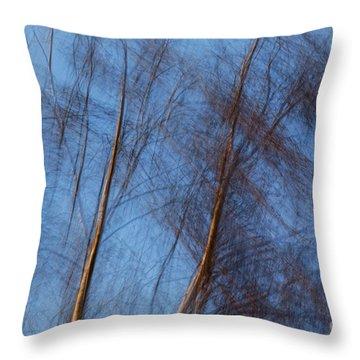 Talking Trees Throw Pillow