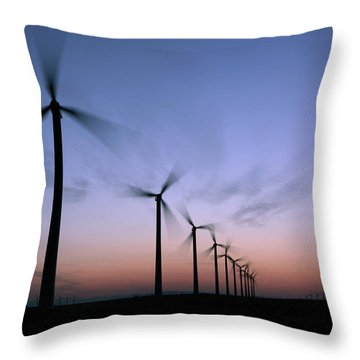 Prairie Sunset Throw Pillows
