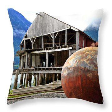 Tallheo Time Warp Throw Pillow