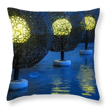 Tamarindo Reflections Throw Pillow