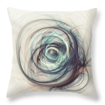 Tamed Power Throw Pillow