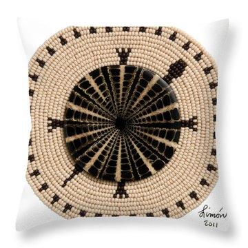 Tan Shell Throw Pillow
