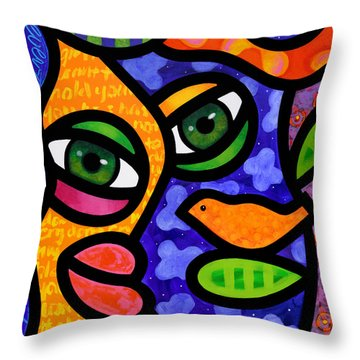 Tangier Throw Pillow