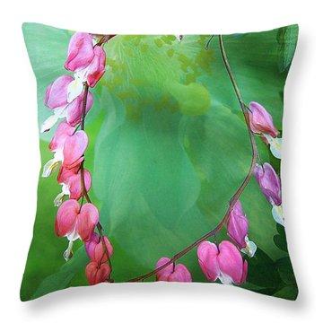 Tangled Love Throw Pillow
