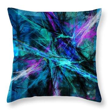 Tangled Web Throw Pillow