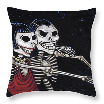 Tango 4 Ever Throw Pillow by Holly Wood