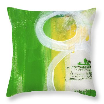 Tango- Abstract Painting Throw Pillow