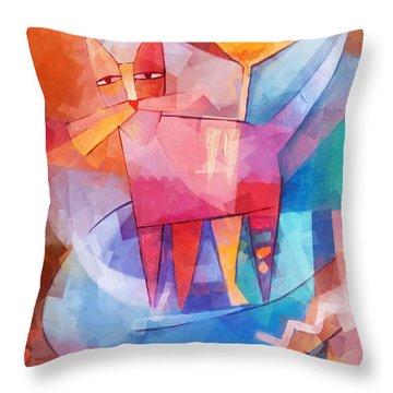 Cubic Throw Pillows