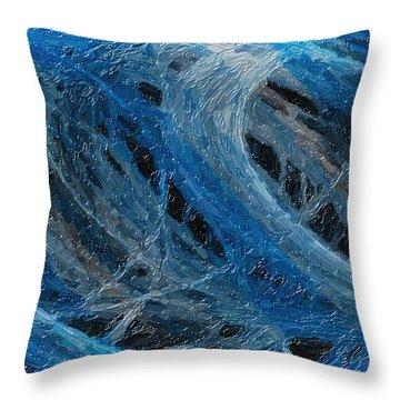 Tango Of The Lights 1 Throw Pillow by Richard Farrington