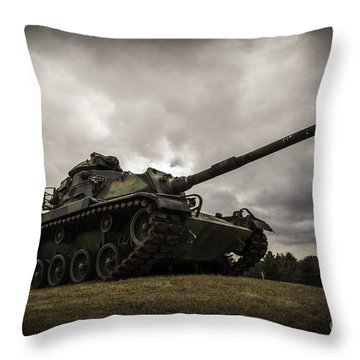 Tank World War 2 Throw Pillow