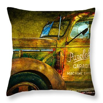 Taos Chevy II Throw Pillow