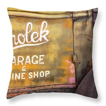 Throw Pillow featuring the photograph Taos Chevy by Steven Bateson