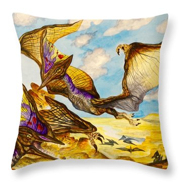 Tapejara Throw Pillow