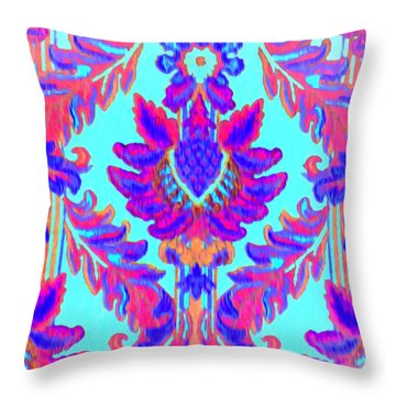 Tapestry Throw Pillow by Bill Cannon
