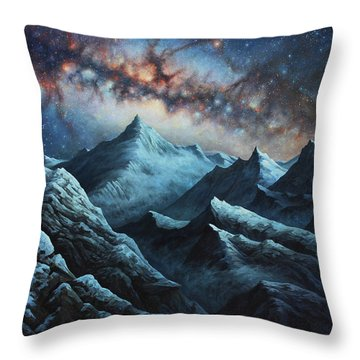 Tapestry Of Time Throw Pillow